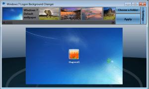 customizing windows logon screen