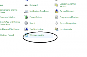 windows update large icon