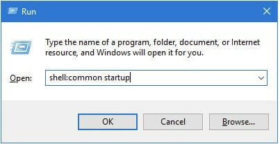 windows startup folder path