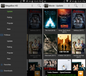 movie topper app.com