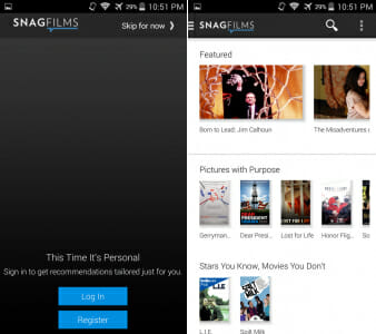 SNAGFILMS UI