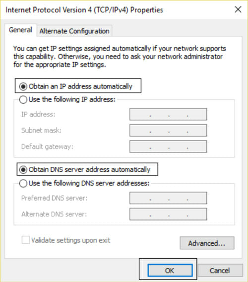 wireless network connection 5 does not have a valid ip configuration