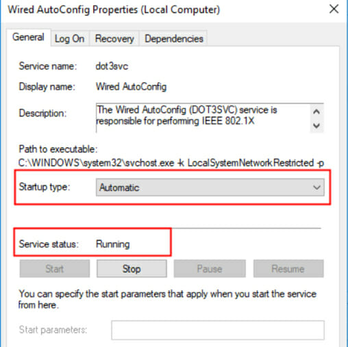 Wi-Fi doesn't have a valid IP configuration