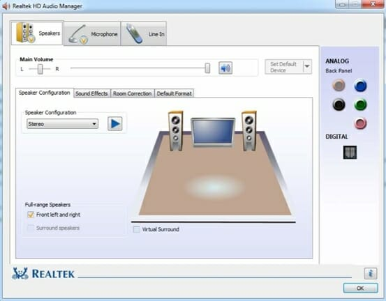 realtek audio driver windows 10