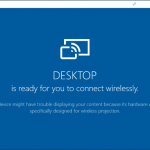 How To Use Miracast For Windows 10