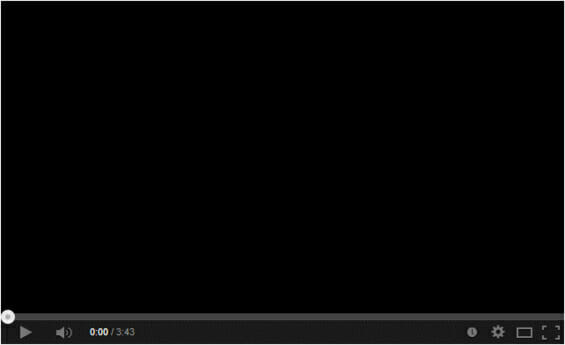 youtube black screen
