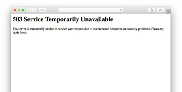 How to Fix a 503 Service Unavailable Error - iTechGyan