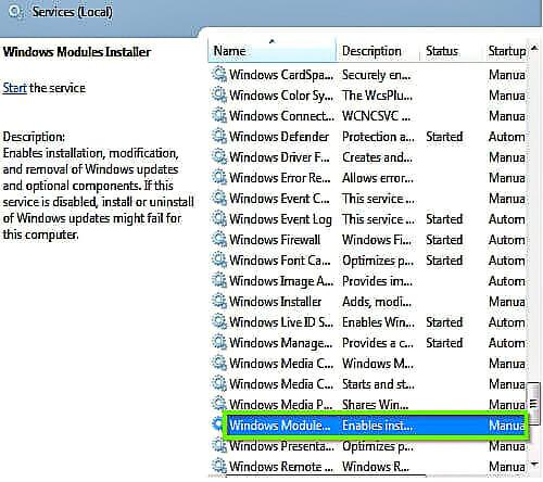 Windows-Module-Installer