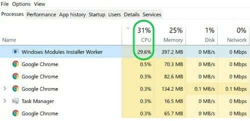 Windows-Modules-Installer-Worker-High-CPU-Usage-Error