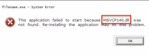 Msvcp140.Dll-missing-error